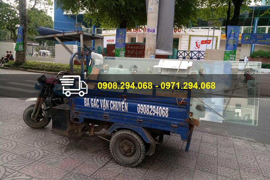 Dịch vụ xe ba gác vận chuyển hàng hóa ngày càng được sử dụng phổ biến