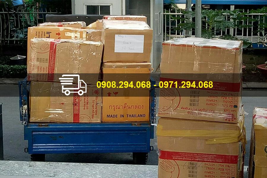 Dịch vụ xe ba gác có thể vận chuyển được cho nhiều loại hàng hóa khác nhau