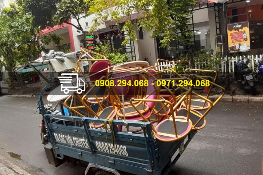 Đội xe ba gác Sài Gòn có mặt trên mỏi nẻo đường