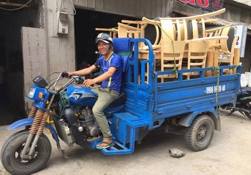 dịch vụ ba gác vận chuyển quận Bình Thạnh