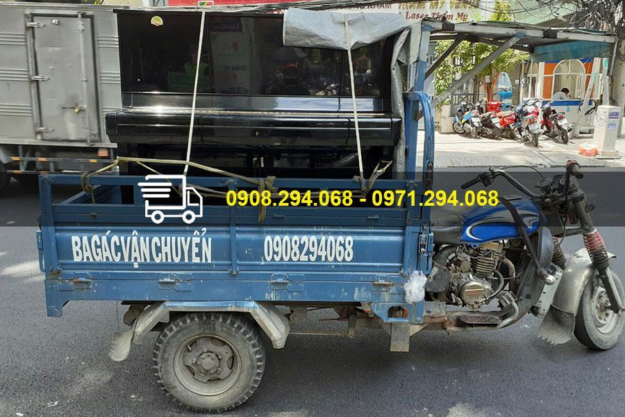 Dịch vụ chuyên chở hàng hóa bằng xe ba gác đang rất được tin tưởng và lựa chọn